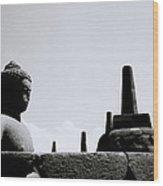 The Meditation Of The Buddha Wood Print