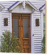 Borough Door Wood Print