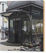 Borough Station Wood Print