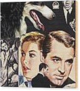 Borzoi Art - Suspicion Movie Poster Wood Print