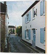 Bosham Hight Street West Sussex Wood Print