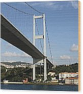 Bosphorus Bridge Istanbul Wood Print
