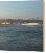 Bosphorus Wood Print