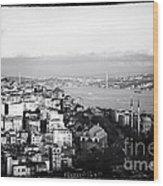 Bosphorus View Wood Print