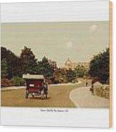 Boston - Back Bay Fens Speedway - 1915 Wood Print