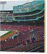 Boston 10 Wood Print