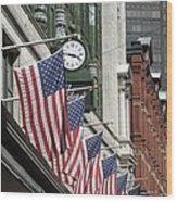 Boston 4th Of July Wood Print