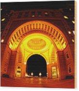 Boston - 50 Rowes Wharf Arch Wood Print