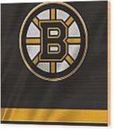 Boston Bruins Uniform Wood Print