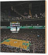 Boston Celtics Basketball Wood Print