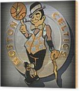 Boston Celtics Wood Print