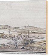 Boston Harbor, 1775 Wood Print