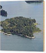 Boston Islands, Southport Wood Print