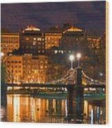 Boston Lagoon Bridge 2 Wood Print