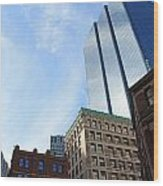 Boston Ma Architecture 2 Wood Print