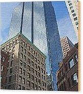 Boston Ma Architecture Wood Print