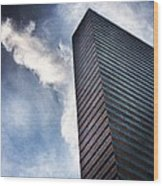 Boston Monolith Wood Print