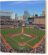 Boston Red Sox V Baltimore Orioles Wood Print