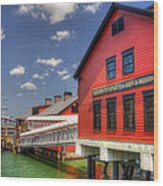 Boston Tea Party Museum 3 Wood Print