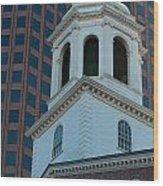 Boston's North Meeting House Wood Print