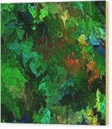 Botanical Fantasy 110413 Wood Print