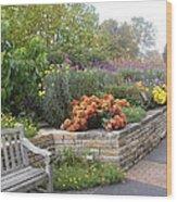 Botanical Gardens8 Wood Print