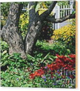 Botanical Landscape 2 Wood Print