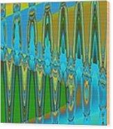 Botanophobia Wood Print
