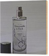 Bottle Of Abercrombie Fitch Perfume Wood Print
