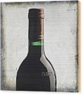 Bottle Of Bordeaux Wood Print