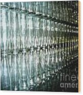 Bottle Wall Wood Print
