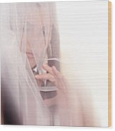Boudoir Photography 14. Impressionism. Exclusively For Faa Wood Print