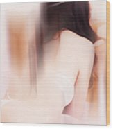 Boudoir Photography 15. Impressionism. Exclusively For Faa Wood Print