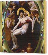 Bougereau Vintage Jesus Wood Print