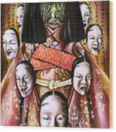 Boukyo Nostalgisa Wood Print