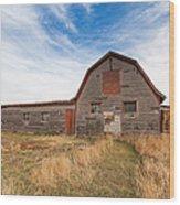 Boulder Barn Wood Print