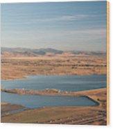 Boulder, Co, Boulder Reservoir Wood Print