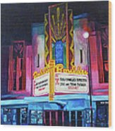 Boulder Theater Wood Print