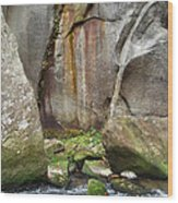 Boulders By The River 2 Wood Print