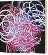 Bouncing At The Old Kings Arms Wood Print