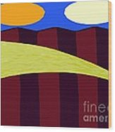 Bouncy Sunshine Wood Print by Patrick J Murphy