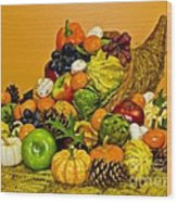 Bountiful Harvest Wood Print