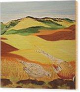Bountiful Palouse Wood Print