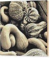 Bounty Wood Print