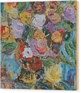 Bouquet 2 - Sold Wood Print