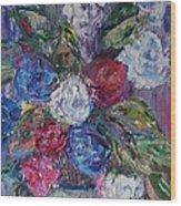 Bouquet 4 Wood Print