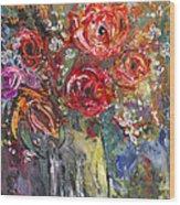 Bouquet De Chez Moi 04 Wood Print