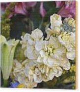 Bouquet Flower Wood Print