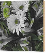 Bouquet Wood Print