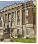 Bourbon County Courthouse 4 Wood Print